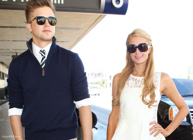 Paris Hilton barátjával, River Viiperivel