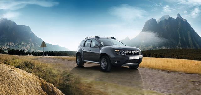 Dacia Duster 2014 gyári fotók