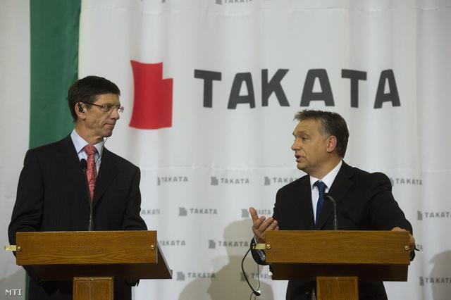 Stefan Stocker és Orbán Viktor