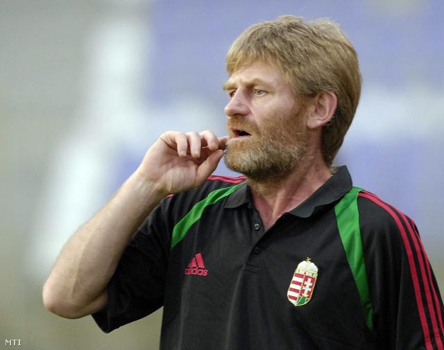 2006. augusztus 16.                         Róth Antal a magyar csapat edzője a Magyarország-Finnország U21-es labdarúgó Eb selejtezőn
