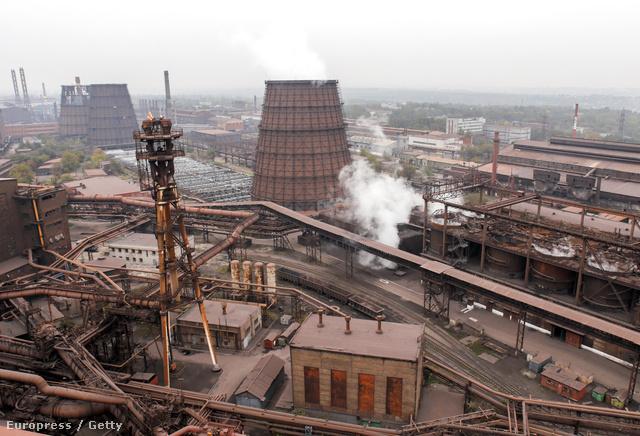 A ukrán Metinvest az ország legnagyobb acélgyártója
