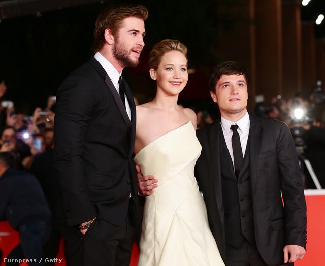 Jennifer Lawrence a Római Filmfesztiválon