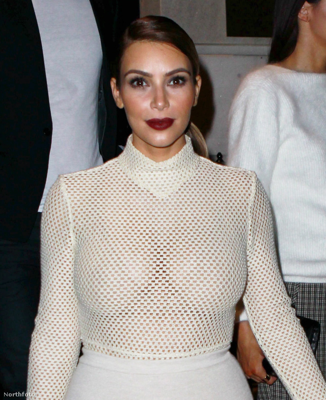 Kim Kardashian november 18-án, New Yorkban