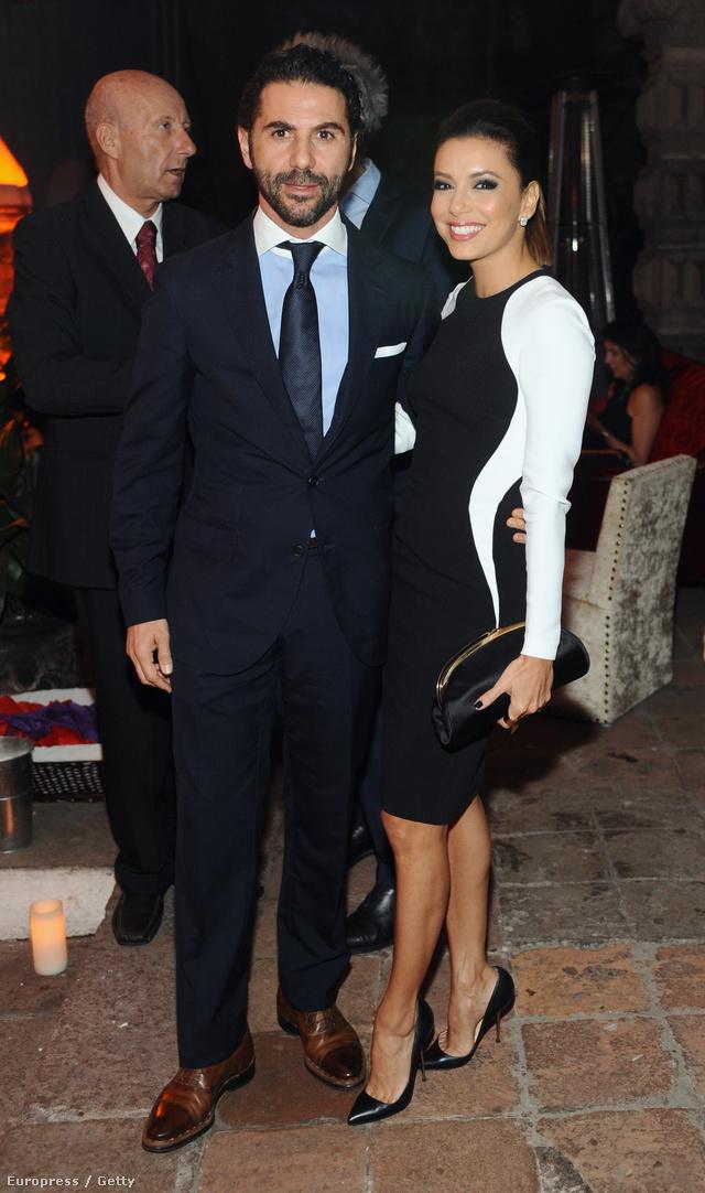 Eva Longoria és Jose Antonio Baston