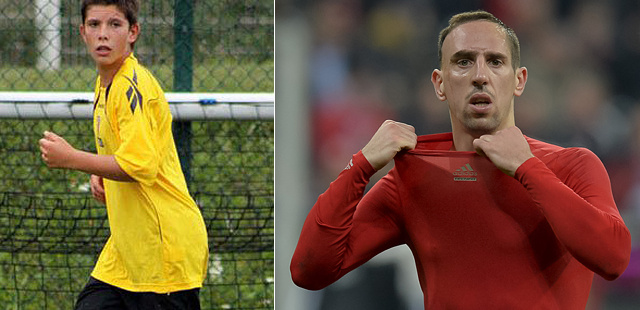 Steven és Franck Ribéry