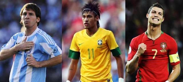 Elméletileg ők lesznek a sztárok: Messi, Neymar, Cristiano Ronaldo