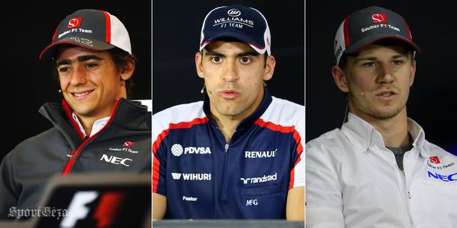 Esteban Gutierrez, Pastor Maldonado, Nico Hulkenberg