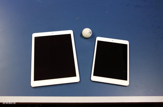 Tesztünk során egyetlen iPad sem sérült meg. Becsszó