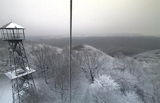 A karancs-medvesi webkamerakép képe