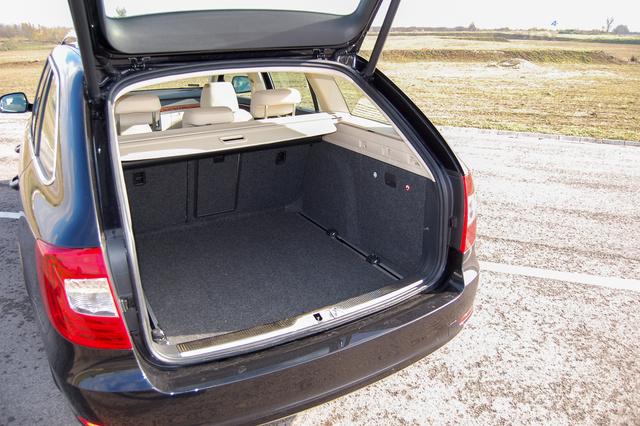 Csodálkoznék, ha az ön autójának nagyobb és kockább lenne a csomagtartója