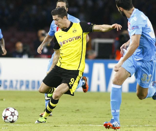 A Borussia Dortmund lengyel középpályása Robert Lewandowski