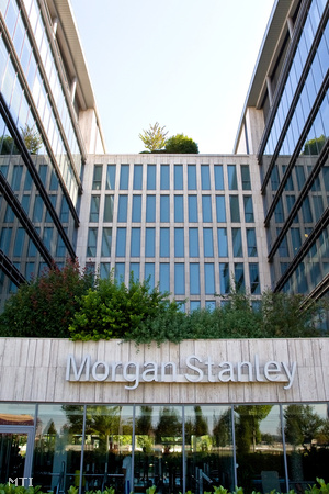 A Morgan Stanley Üzleti és Technológiai Központ irodaháza a Millennium centerben.