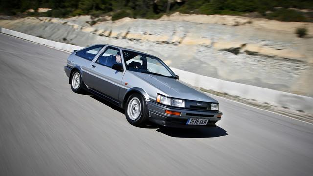 A Toyota GT AE86 halála után lett keresett autó