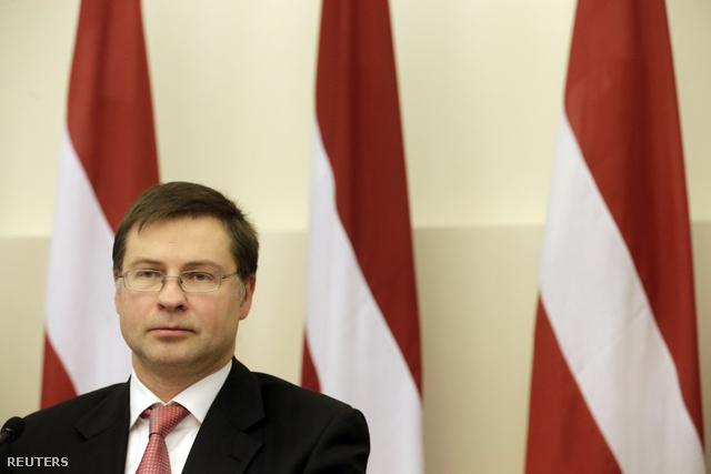 Valdis Dombrovskis lett miniszterelnök és kormánya bejelentette lemondását