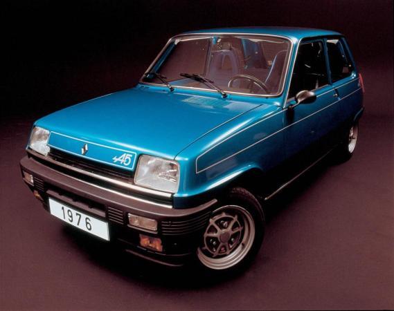 Renault 5 Alpine (1976), 93 lóerő, 850 kiló