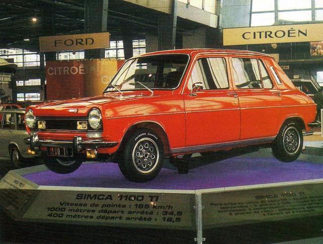 Simca 1100 Ti (1974), 82 lóerő, 950 kiló