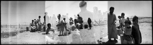 Mirage in the Desert / Délibáb a sivatagban, 1991 - Iraki menekültek egy szaúdi menekült központban a Sivatagi Vihar nevű hadművelet után