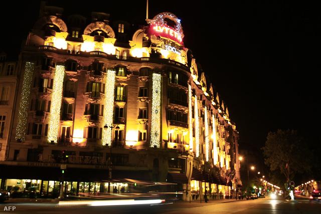 A párizsi Lutetia hotel