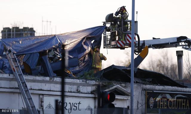 A baleset helyszíne nov. 30-án