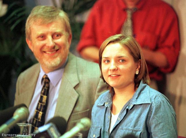 Louise Woodward a tárgyalás idején