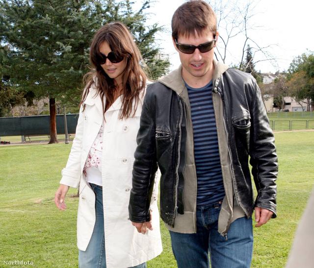 Katie Holmes és Tom Cruise
