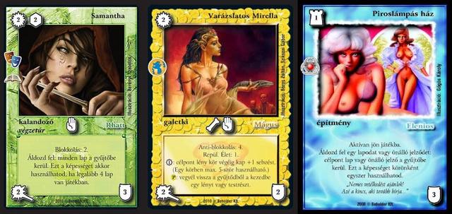 A pattanásos kamaszok legnagyobb öröme: tobzódnak a dögös csajok a sztárrajzolók kártyaillusztrációin