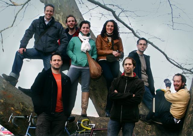 A Blue Duck Arts csapata