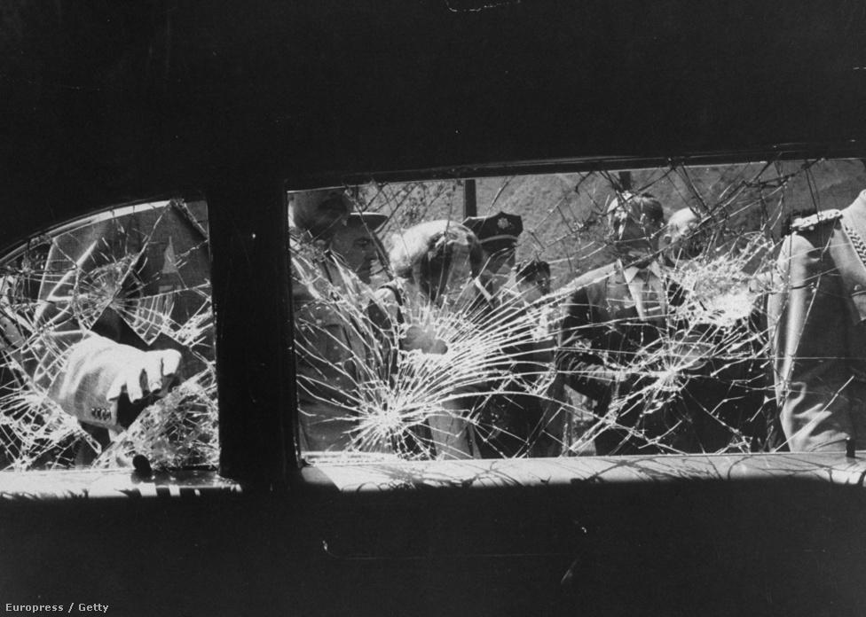 Schutzer 1958-ban még az alelnök Nixont kísérte el Dél-Amerikába, ahol demonstrálók bedobták az autó ablakát.