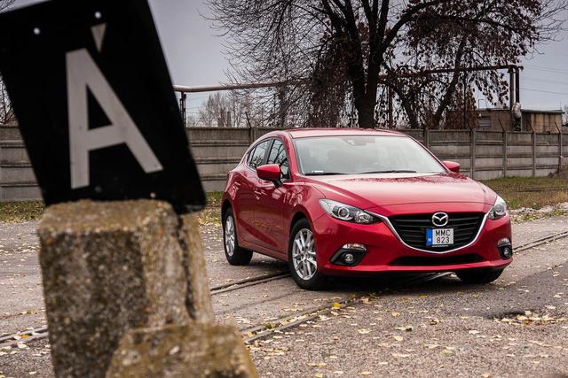 A japánok közül egyedül a Mazda 3 igazán kívánatos külsejű