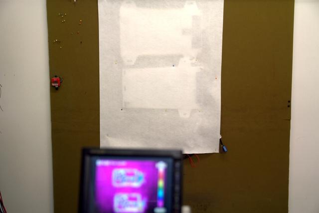 Minden egyes tesztfázist hőkamerás ellenőrzés követ