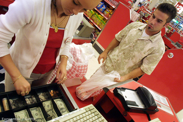 Vásárlás egy floridai Target áruházban
