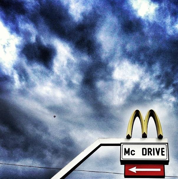 A Kolosy téri McDonald's logója