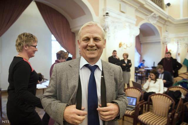 Tarlós István a fővárosi közgyűlésen