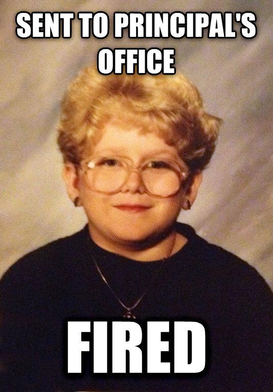 Behívják az igazgatói irodába - kirúgják