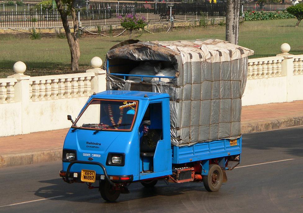 Az M&M nemcsak terepjárókat gyárt, hanem személyautókat, traktorokat, és különféle teherautókat is. Természetesen jelen vannak a háromkerekű-szegmensben is. India még mindig tele van háromkerekű járművekkel. Az autoriksákat éppúgy használják személyszállító taxiként, mint teherfuvarozásra. Ez utóbbi műfajban a Mahindra egyenesen bajnok, legalábbis ennek a Championnak a márkaneve erre utal. Dízel- és földgázhajtású motorral kapható, és úgy hirdetik, hogy erős, megbízható és stílusos, továbbá kisvállalkozásoknak ideális