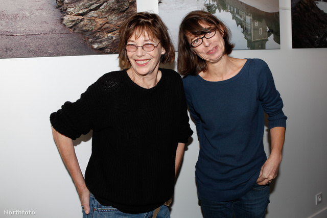Balra Jane Birkin, jobbra Kate Barry