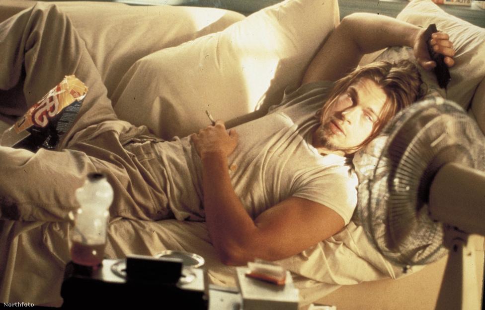 Egy kis, de annál emlékezetesebb szerep a Tony Scott-féle Tiszta románcból. A hiteles megformálást segíthette, hogy Pitt saját bevallása szerint maga is sokat döglött beszívva a kanapén, amíg Jennifer Aniston férje volt.
