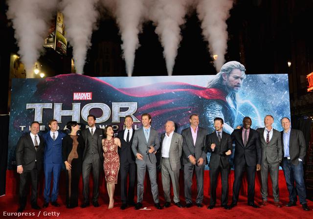 A Thor bemutatója.