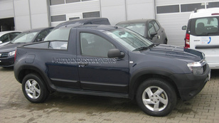 Képeken a Dacia Duster pick-up