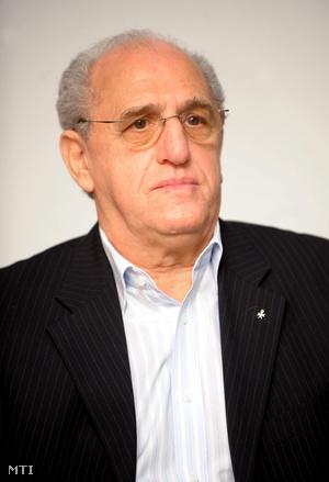 Balogh István a Gyermekrák Alapítvány elnöke