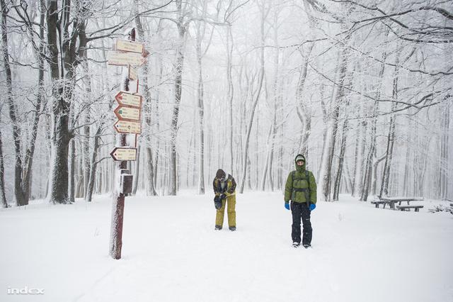 Téli hótúra a Börzsönyben