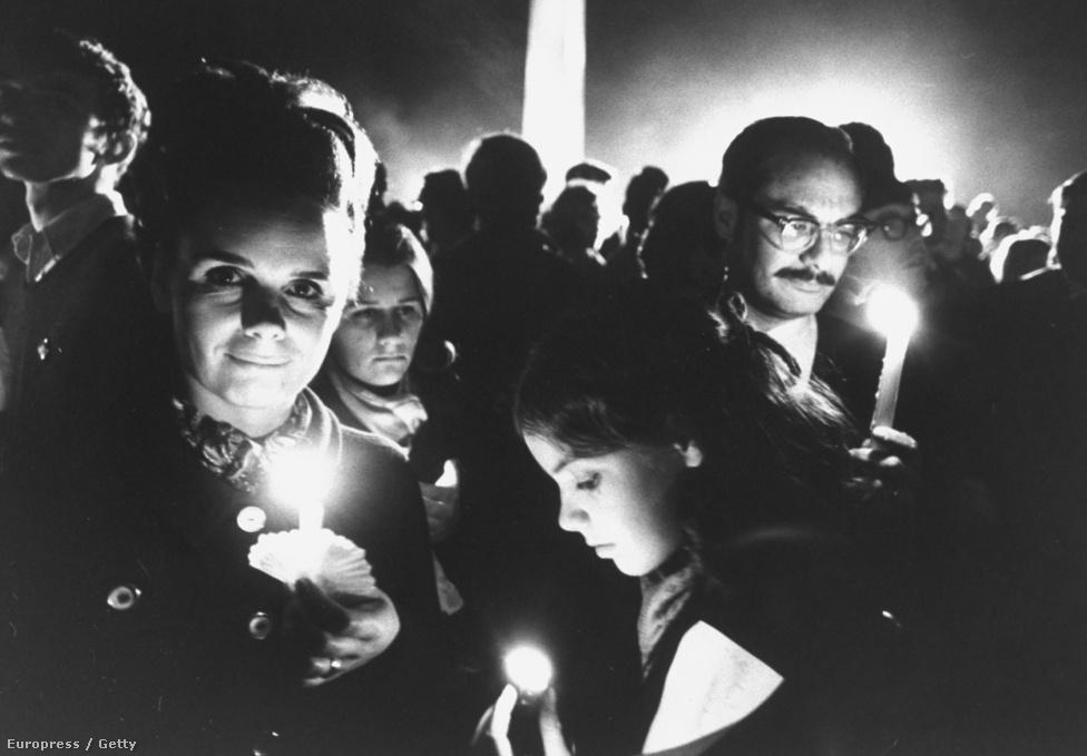 Alaon Coburn és családja, 1969.