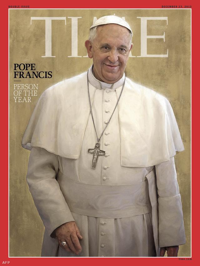 A TIME magazin Év Embere címlapja
