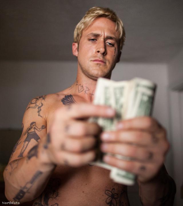 Ryan Gosling pénzt számol. Ah.