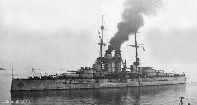 A Szent István hadihajó