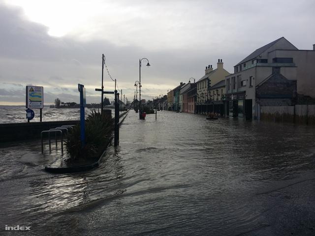 Olvasónk szombat reggeli fotója az Írország keleti partján fekvő Dundalkból