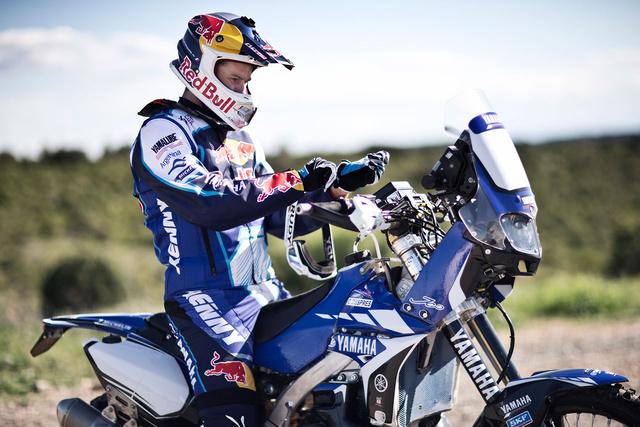 Cyril Despres már a Yamaha nyergében