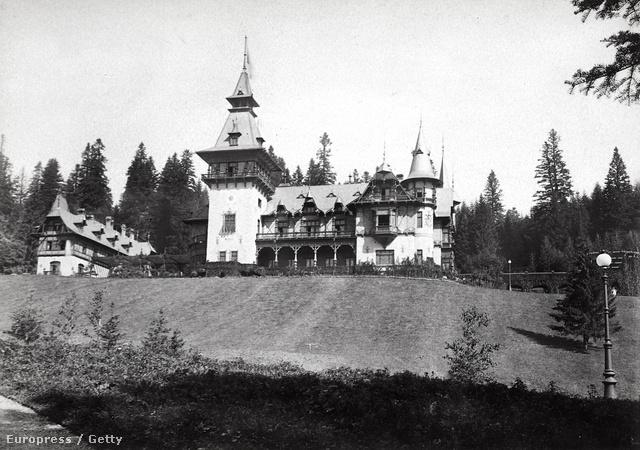 A Peles-kastély 1914-körül