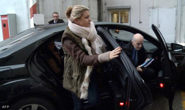 Schumacher felesége, Corrina