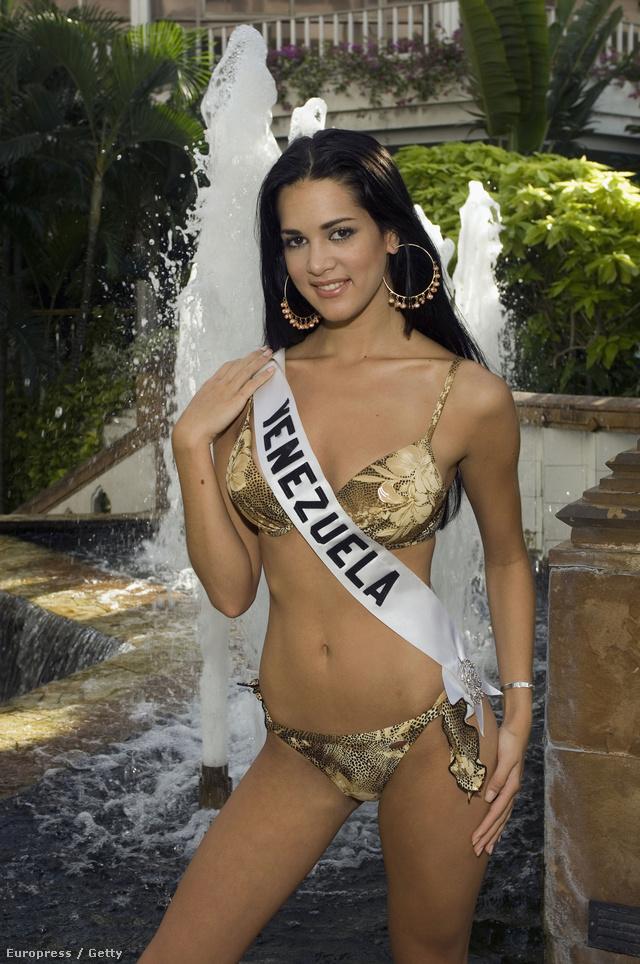 2004-ben nyerte el a Miss Venezuela címet